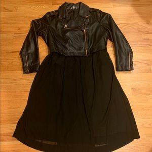 Jackets & Blazers - Moto jacket size 2x